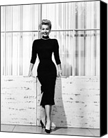 1950s Fashion Canvas Prints - Mitzi Gaynor, Ca. 1950s Canvas Print by Everett