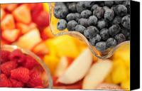 Photohogdesigns Canvas Prints - Mixed Fruit 6904 Canvas Print by PhotohogDesigns