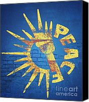 Featured Canvas Prints - Moar Peace Canvas Print by Laura Brightwood