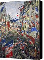 Impressionism Photo Canvas Prints - Monet: Montorgeuil, 1878 Canvas Print by Granger