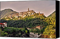 Traveller Canvas Prints - Montalto Ligure - Italy Canvas Print by Juergen Weiss