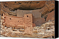 Ruins Canvas Prints - Montezuma Castle - Special in its own way Canvas Print by Christine Till