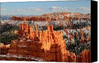 Thor Canvas Prints - Monument in Bryce Canyon Canvas Print by Pierre Leclerc