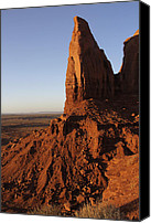 Red Rock Formations Canvas Prints - Monument Valley High-lites Canvas Print by Mike McGlothlen