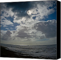 Grey Clouds Canvas Prints - Moody Monday Morning  Canvas Print by Bill Hale