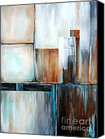 Silver Moonlight Canvas Prints - Moonlight Whispers    Glass Houses Series Canvas Print by Josie Duff