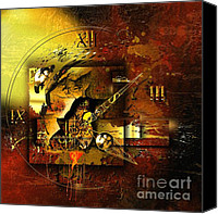 Psychedelic Space Art Canvas Prints - More Than The Reality Canvas Print by Franziskus Pfleghart