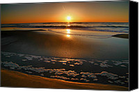 Assateague Canvas Prints - Morning Has Broken Canvas Print by Steven Ainsworth