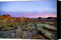 Valley Of Fire Canvas Prints - Morning Sky Canvas Print by Stephen Campbell