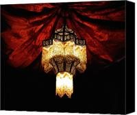 Chandelier Canvas Prints - Moroccan Glow Canvas Print by Slade Roberts