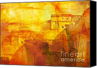 Impression Canvas Prints - Morocco Impression Canvas Print by Lutz Baar