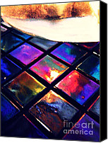Mosaic Canvas Prints - Mosaic 2 Canvas Print by Sarah Loft