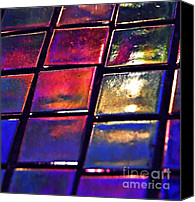 Mosaic Canvas Prints - Mosaic 5 Canvas Print by Sarah Loft