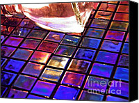 Mosaic Canvas Prints - Mosaic 6 Canvas Print by Sarah Loft