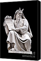 Still Life Sculpture Photo Canvas Prints - Moses Canvas Print by Fabrizio Troiani
