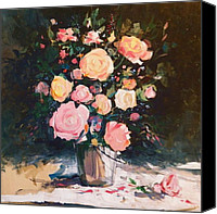 Mjonesart Canvas Prints - Mothers Day Canvas Print by Micheal Jones