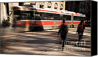 Crosswalk Canvas Prints - Motion 0711 Canvas Print by Igor Kislev