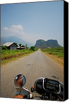 Vietnam Canvas Prints - Motorbike Trip Through Northern Vietnam Canvas Print by Thepurpledoor