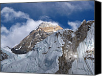 Nepal Canvas Prints - Mount Everest-kala Patar-everest Base Camp Trek-ne Canvas Print by Copyright Michael Mellinger