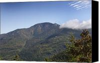 Mountain View Canvas Prints - Mount Giant in the Adirondack High Peaks Wilderness Canvas Print by Brendan Reals