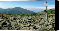 White Mountains Canvas Prints - Mount Jefferson - White Mountains New Hampshire  Canvas Print by Erin Paul Donovan