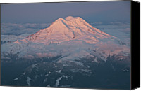 Mt. Rainier Canvas Prints - Mount Rainier, Wa Canvas Print by Professional geographer who loves to capture landscapes