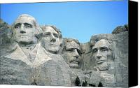 Thomas Canvas Prints - Mount Rushmore Canvas Print by American School
