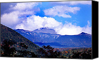 White Mountains Canvas Prints - Mount Washington Canvas Print by Skip Willits