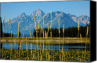 Jonathan Schreiber Canvas Prints - Mountain View Canvas Print by Jonathan Schreiber
