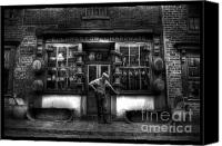 Buy Framed Prints Canvas Prints - Mr Langstons Hardware Shop Canvas Print by Yhun Suarez
