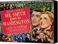 Posth Canvas Prints - Mr. Smith Goes To Washington, James Canvas Print by Everett