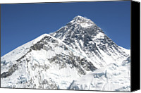 Nepal Canvas Prints - Mt. Everest Canvas Print by Pal Teravagimov Photography