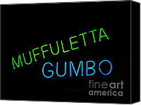 Gumbo Canvas Prints - Muffuletta Canvas Print by Leslie Leda