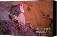 Indian Ruins Canvas Prints - Mummy Ruin Canvas Print by Bob Christopher