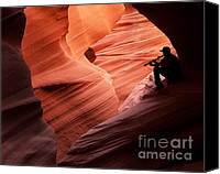 Cavern Canvas Prints - Music in the Canyon Canvas Print by Bob and Nancy Kendrick