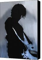 Rock And Roll Canvas Prints - Music Man  Canvas Print by Randy Steele