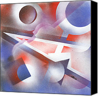 Harmonic Canvas Prints - Music of the Spheres Canvas Print by Hakon Soreide