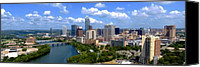 Austin Skyline Canvas Prints - My Austin Skyline Canvas Print by James Granberry