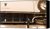 Classic Automobiles Canvas Prints - My Dads Car Canvas Print by Steven Milner