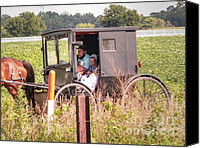 Horse Carriage Canvas Prints - My Favorite Canvas Print by David Bearden