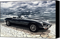 Roadster Canvas Prints - my friend the Jag Canvas Print by Joachim G Pinkawa