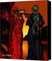 Senegal Canvas Prints - My Fula  Canvas Print by Sam Roberts