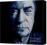 Iconic Canvas Prints - My name is Michael Caine Canvas Print by Paul Lovering