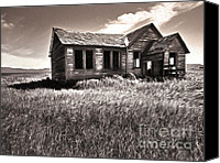 Haunted House Canvas Prints - My own Private Idaho Canvas Print by Gregory Dyer