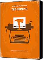 King Digital Art Canvas Prints - My The Shining minimal movie poster Canvas Print by Chungkong Art