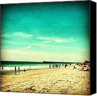 Beach Canvas Prints - Myrtle Beach Canvas Print by Katie Williams