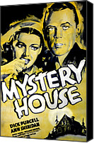 Haunted House Photo Canvas Prints - Mystery House, From Left Ann Sheridan Canvas Print by Everett