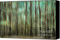 Impression Canvas Prints - Mystic Forest Canvas Print by Iris Lehnhardt