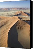 Slopes Painting Canvas Prints - Namib Desert Canvas Print by Unknown