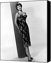 1950s Fashion Canvas Prints - Natalie Wood, Warner Brothers, 1956 Canvas Print by Everett